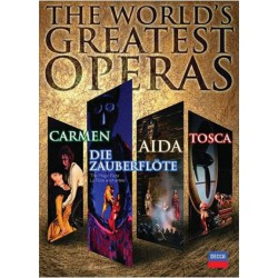 The World's Greatest Operas - DVD set