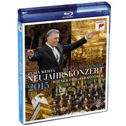 PREORDER: New Year's Concert 2015 Blue Ray - Vienna Philharmonics