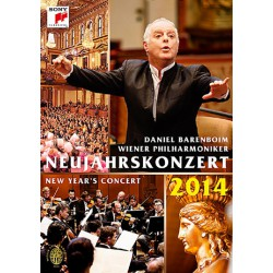 New Years Concert 2014 DVD - Vienna Philharmonics