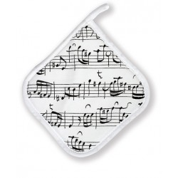 Potholder - Music sheet