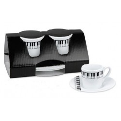 Espresso set - Keyboard (2 pieces)